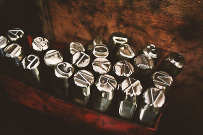 Metallic Letters