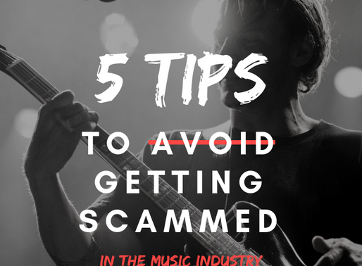 How to Avoid Getting Scammed in the Music Industry