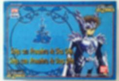 Odin robe los caballeros del zodiaco espana Bandai 2004