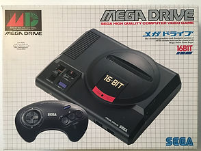 SEGA Megadrive 16 bit Japan new sealed 01