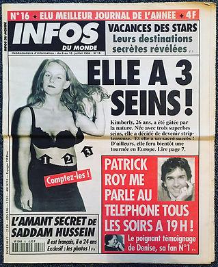 infos du monde 1994 n°16