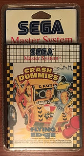 Crash Dummies - Master System PAL france blister rigide NEUF