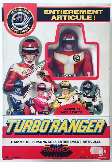 Turbo Ranger RED force DX Bandai France new