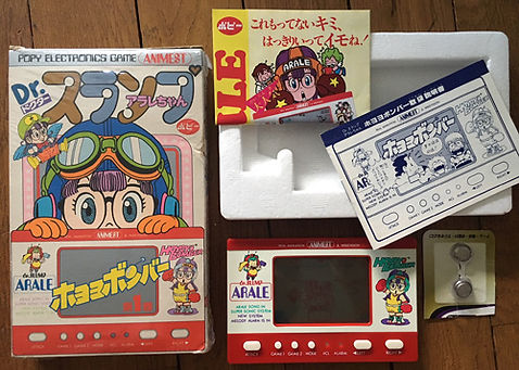 Bandai Animest POPY Electronics Game Japn Dr Slump ARALE
