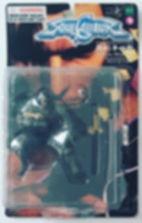 Soul Calibur Action Figure Heishiro Mitsurugi card mint new moc