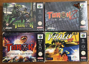 turok n64 nintendo 64 v-rally acclaim