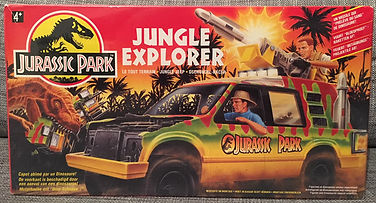 Jurassic park Jungle Explorer mint boxed toys