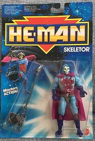 He-man skeletor mattel france mint moc fr