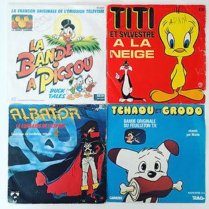 vinyl la bande a picsou titi tchaou et grodo albator