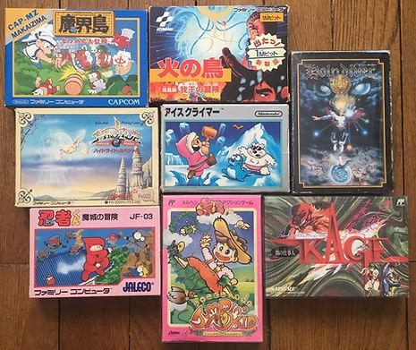 Nintendo Famicom Kage Ice Climber Holy Diver Jumpin Kid Hi no Tori