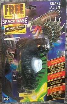 Aliens - Snake Alien Kenner sealed