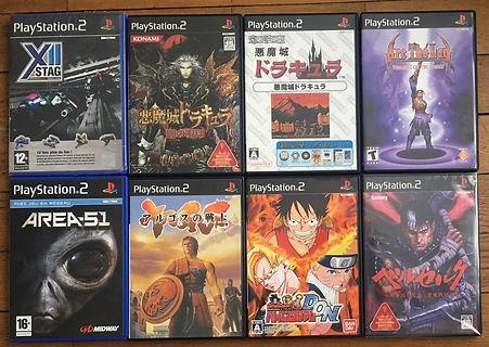 PS2 Akumajou Drcua Oretachi Haunted Castle PS2 playstation berserk
