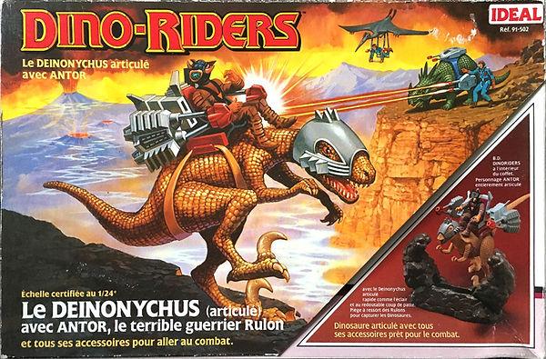 dino riders série 1 deinonychus ideal