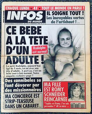 infos du monde 1994 n°25