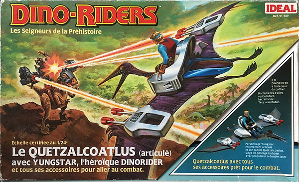 dino riders serie 1 quetzalcoatlus ideal france