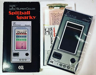 Game & Watch Super Color SPITBALL SPARKY CGL NOS neuf NEW old Stock