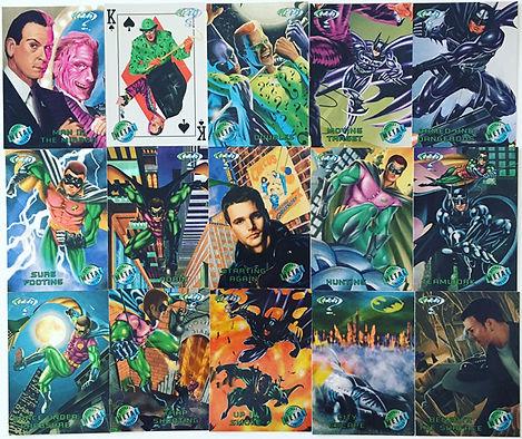 Batman Forever Metal Cards