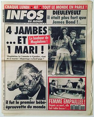 infos du monde 1994 n°29
