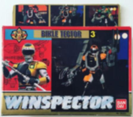 Winspector tokkei Bikle tector bandai germany 1990