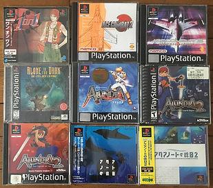 PS1 jeux collection
