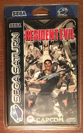 Resident Evil - Saturn PAL france blister rigide NEUF