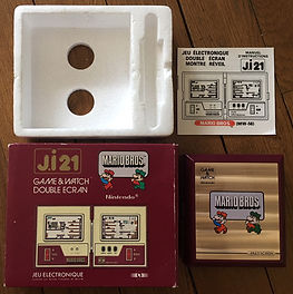 Game & Watch Double écran Mario Bros J.i21 France ji21