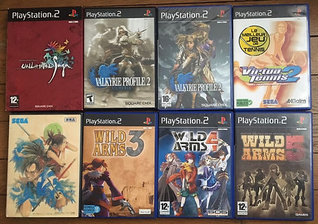 valkyrie profile 2 wild arms 3 4 5 ps2 playstation unlimited saga