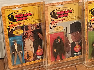 Indiana Jones Raiders of the lost ark original 4 back KENNER 1982 NEW