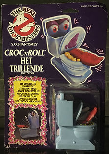 Croc'n Roll The Real Ghostbusters sealed