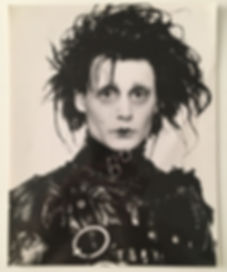Johnny Deep Edward scissorman photo