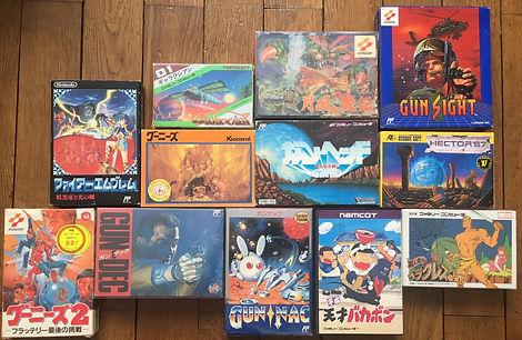 Nintendo Famicom Goonies Gun Nac Getsu fuu maden