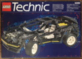 Lego Technic 8880 Supercar