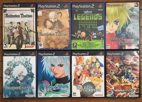 suikoden tactics ps2 playstation 2 tales of destiny rebirth legendia tekken 5