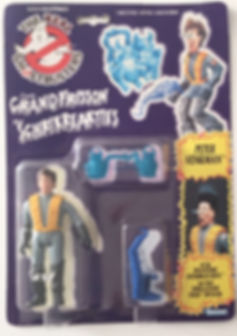Pete Venkman Real Ghostbusters sealed