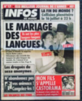 infos du monde 1994 n°17