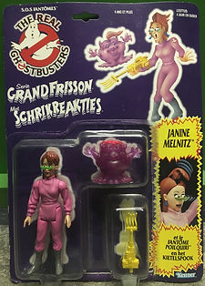 Janine Melnitz Real Ghostbusters sealed