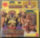 Saint Seiya Chevaliers du zodiaque gold or saga gemeaux gemini bandai france vintage made in taïwan