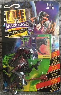 Aliens - Bull Alien Kenner sealed