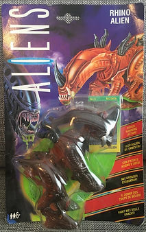 Aliens - Rhino Alien Kenner sealed