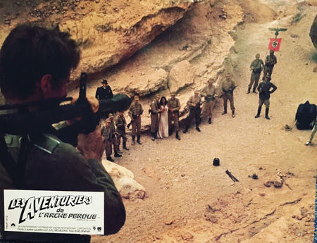 Indiana Jones les aventuriers de l'arche perdue lobby card