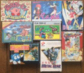 Nintendo Famicom Kirby Hoshi no Layla Magical Doropie Mighty Final Fight Makaimura metal gear mario brothers