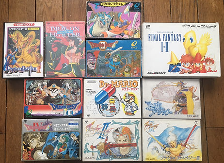 Nintendo Famicom Final Fantasy Dragon Quest Fighter