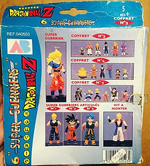 dbz dragon ball z super guerriers coffret ab n°3 france