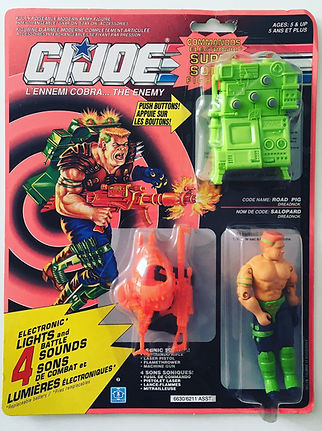 Gi joe road pig salopard electronic new