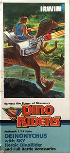 Dino Riders Deinonychus tyco IRWIN Canada