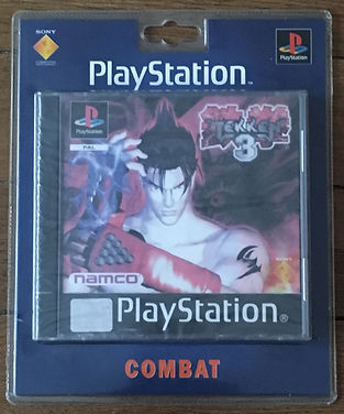 Tekken 3 sealed blister PS1 brand new
