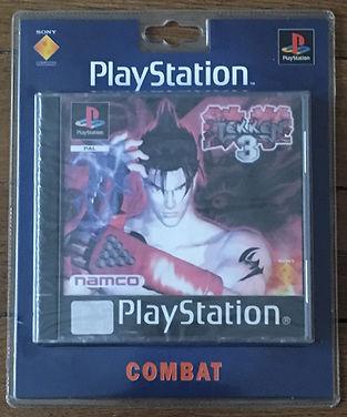 Tekken 3 sealed blister PS1 brand new