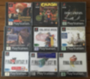 Castlevania Crash Bandicoot Final Fantasy 7 8  Dino Crisis sealed blister PS1 brand new