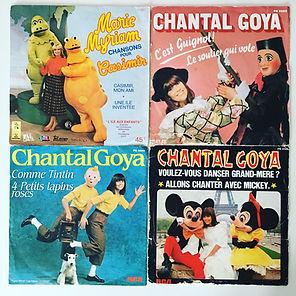 vinyl marie myriam chantal goya tintin mickey guignol casimir