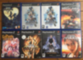 Kingdom hearts la pucelle tactics tomb raider lara croft legend anniversary knightrider 2 PS2 playstation